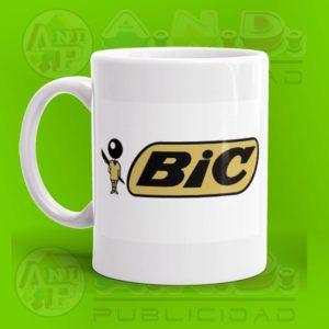 Jarro Sublimado Diseño Logo BIC