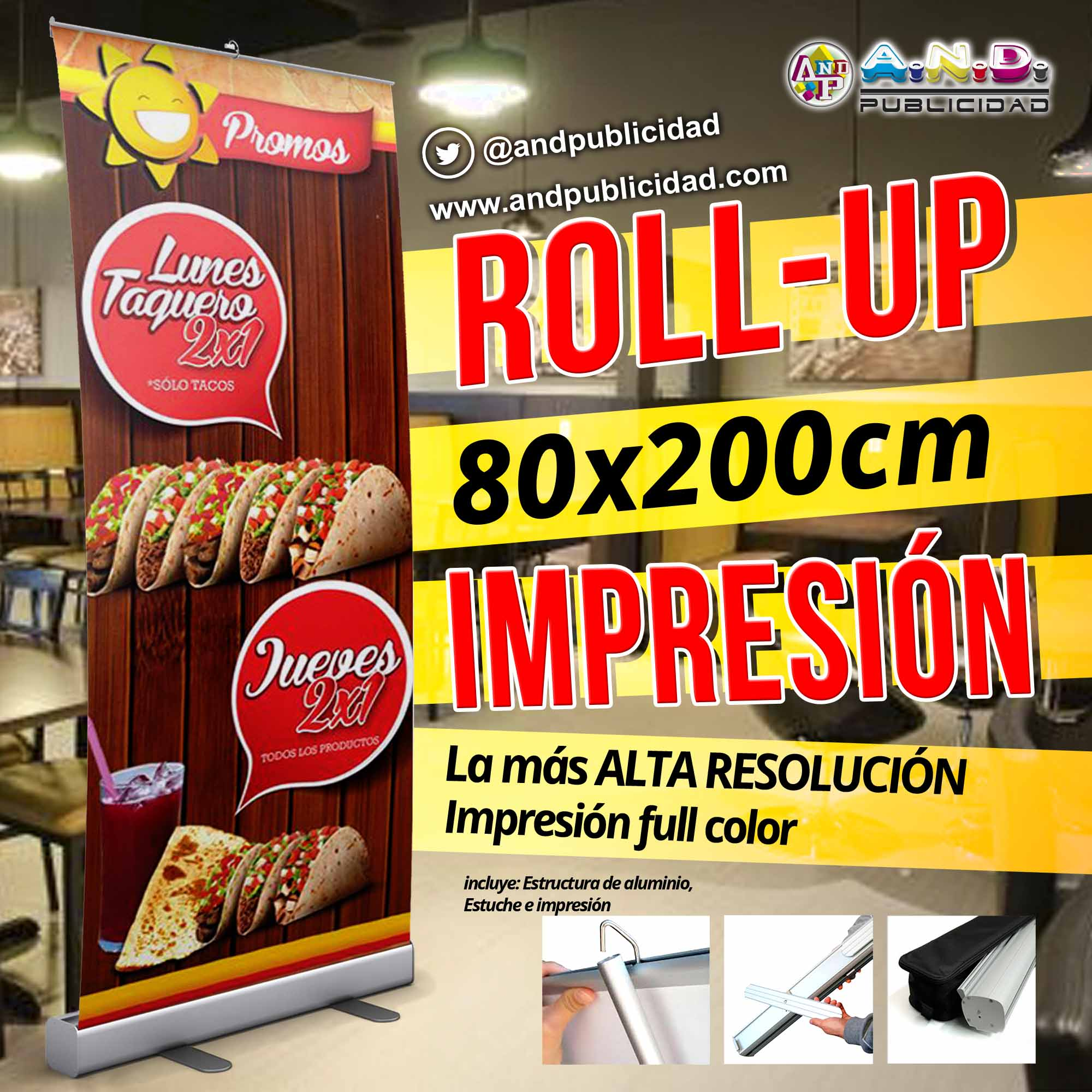 Roll Up 8 0x 200