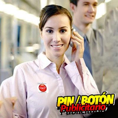 Botón pin Publicitario
