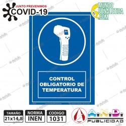 Control Obligatorio de Temperatura