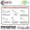Instrucciones Uso Gel Antibacterial A5