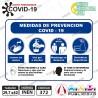 Medidas Prevención Covid 19 Tamaño A3 42x29,7